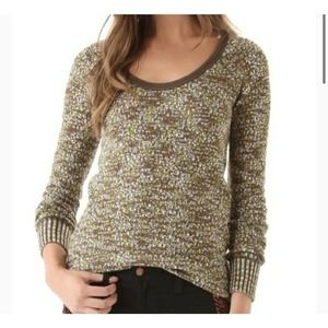 We the Free People Boston Jersey Sweater Top